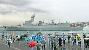 Çin donanmasından dostluk ziyareti