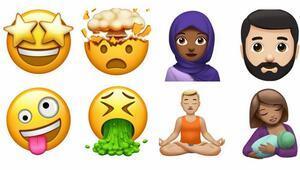 İşte Appleın yeni emojileri