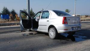 Karamanlıda kaza: 3 yaralı