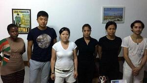 Alanyada 5 yıldızlı otele kaçak işçi baskını