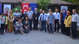 Başkan Gülcüoğlu, kursiyerlerle buluştu