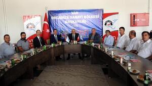 Van Valisi Zorluoğlundan OSBye destek sözü
