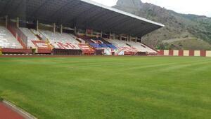 Gümüşhane Yenişehir Stadı yeni sezona hazır