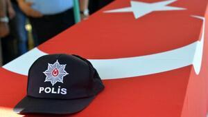 Şaka kurşunu kurbanı polisin cenazesi toprağa verildi