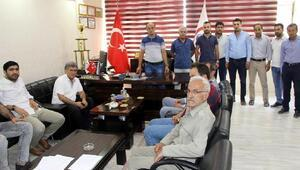Nusaybinde esnaf, elektrik kesintileri için imza kampanyası başlattı