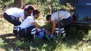 Ünlü avukat Çanakkalede kaza yaptı