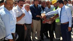 Pınarbaşında ek hizmet binasının temeli atıldı