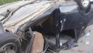 Sinop'ta kaza: 1 ölü, 3 yaralı