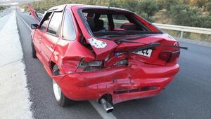 Balıkesirdeki kazada 8 kişi yaralandı