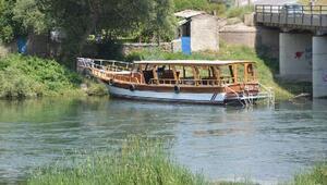 Türkiyenin en uzun nehri Kızılırmakta tekne turu