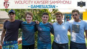 Kayseri'de şampiyon Game Sultan