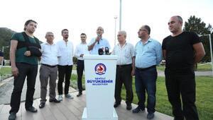 Basın çalışanları yaylada ağırlandı
