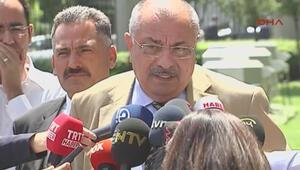 AK Partili Tuğrul Türkeş gazetecilere açıklamada bulundu