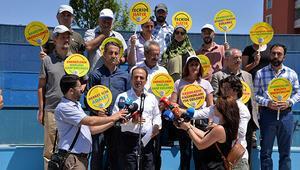 HDPnin eylemi3ncü gününde