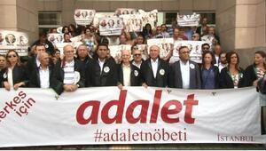 Çağlayan Adliyesi önünde avukatların 17. Adalet nöbeti