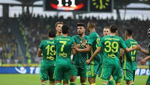 Fenerbahçe tur için avantajı kaptı