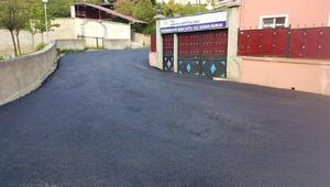 Trabzon Büyükşehir Belediyesi asfaltlama çalışmalarına hız verdi