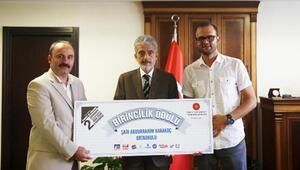 Uluslararası Film Festivalinde birinci oldular