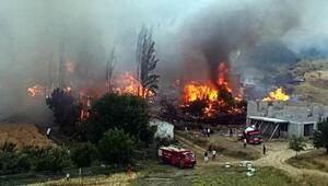 Valiliktten yanan köy için vatandaşlara yardım toplama uyarısı
