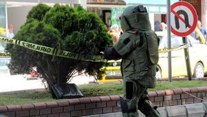Zonguldak Belediyesi önünde şüpheli çanta paniği