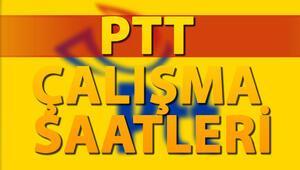 PTT cumartesi günü açık mı PTT çalışma saatleri