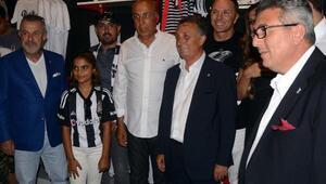 Çebi Bodrumda açılışa katıldı: Milli takım milli mesele, Beşiktaş da bizim için çok önemli yerde