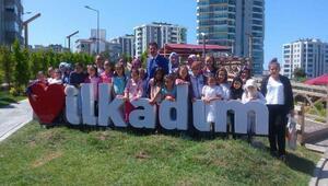 Başkan Tok : Çocuklarımız yaz tatillerini iyi değerlendiriyor