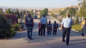 Polis ve zabıtadan Güvenli Park projesi