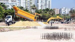 Mezitli Sahil Bandı Yenileme Projesinde sona yaklaşılıyor