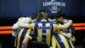 1907 Fenerbahçe Espor Şampiyonluk Ligi'ni lider tamamladı