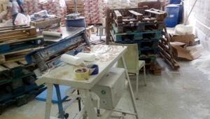 Gaziantepte 12 milyon liralık taklit ürün ele geçti
