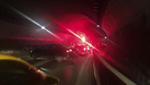 Asker uğurlama konvoyu trafiği birbirine kattı