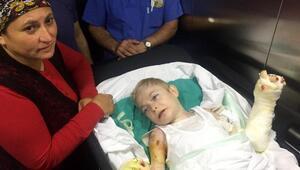 Mucize çocuğa 31inci ameliyat