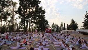 Pamukkalede Uluslararası Yoga ve Dans festivali
