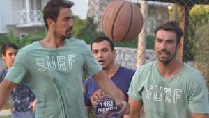 İbrahim'den basket şov