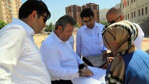 Talas Belediyesi cami peyzajını yapacak
