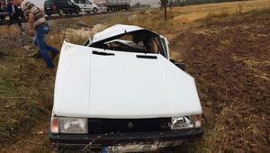 Kütahya'da kaza: 1 ölü, 4 yaralı