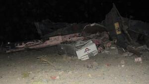 Elazığda demir cevheri taşıyan yük treni devrildi: 2 ölü (2)- yeniden