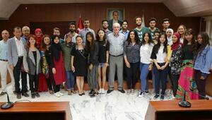 AIESEC öğrencilerinden Başkan Kurta ziyaret