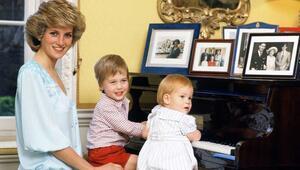 Prenses Diananın özel görüntüleri yayımlandı
