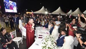 Büyük Ankara Festivali toplu nikah şöleniyle sona erdi