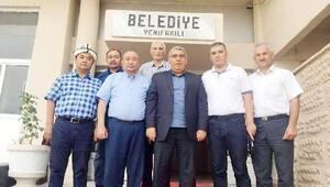 Kırgızistandan Yenifakılı ilçesine konuk geldi
