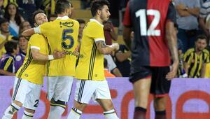 Fenerbahçe 1-0 Cagliari / Maç özeti