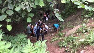 Orduda fındık işçilerinin minibüsü dereye uçtu: 18 yaralı
