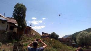 Erzurumda 20 ev ve 10 ahır yandı - Ek fotoğraflar