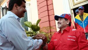 Maradona: Maduro emrederse emperyalizme karşı savaşırım