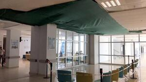 Çerkezköy Devlet Hastanesinin çöken tavanı 1 milyon liraya yenilenecek
