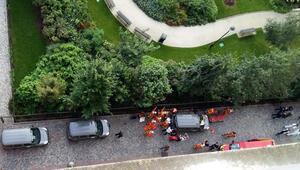 Fransayı şoke eden olay: Askerlere çarpıp kaçtı, yaralılar var