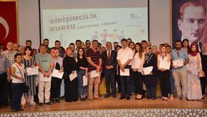 Osmaniyede 800 kursiyere girişimcilik belgesi