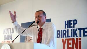 Erdoğan yoklama yaptı, bir partili iki kez ayağa kalkınca...